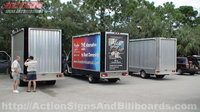 3 Dodge Sprinter Mobile Billboard Trucks
