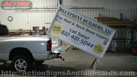 4' x 8' Mobile Pickup Billboard/Pickup Sign