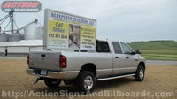 4' x 8' Mobile Pickup Billboard or Mobile Pickup Sign
