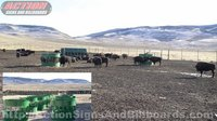 Buffalo Hay Feeder/Hay Hopper Feeder - Colorado