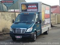 Mobile Billboard Truck in Nigeria