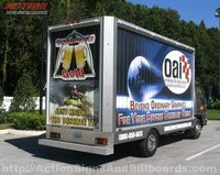 Chevy W3500 Mobile Billboard Truck with rotating signs